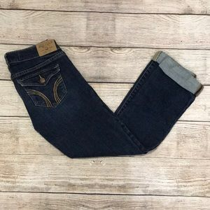 HOLLISTER Social Stretch Cropped Jeans 👖